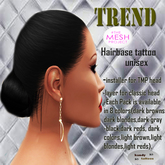 :Kandy Tattoos::Trend::hairbase Dark Gray-Black TMP (unisex)