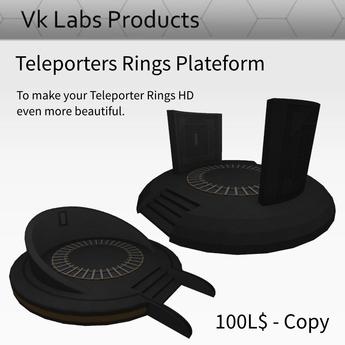 Teleporters Rings Plateform