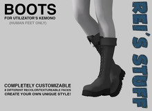 Rei's Stuff - Boots for Kemono Humanfeet