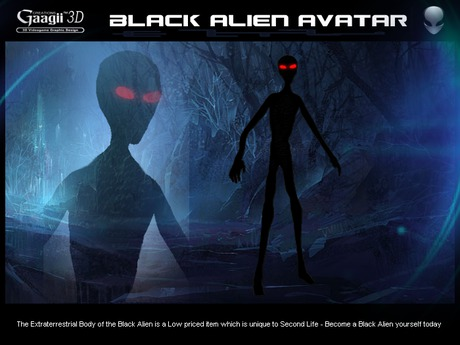 Gaagii - Black Alien Avatar