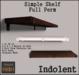 [INDO] - Simple Shelf Full Perm 1LI