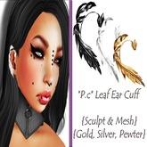 *P.c* Leaf Ear Cuff {Sculpt & Mesh}