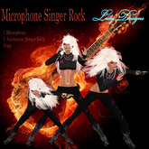 Lady Designs - Microphone Singer Rock
