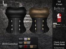 DE Designs - Val Corset  - Black