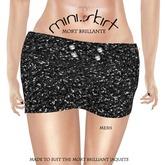 ::TY::Sequin sprkl mini skirt
