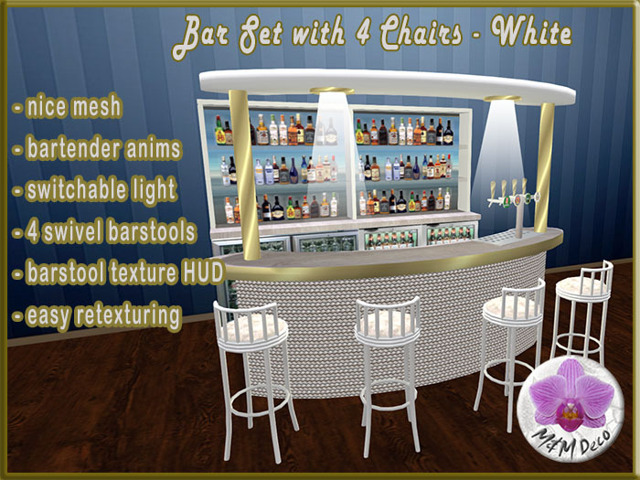 Bar Set White