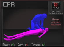 Medical *CPR* Transferable Poseballs