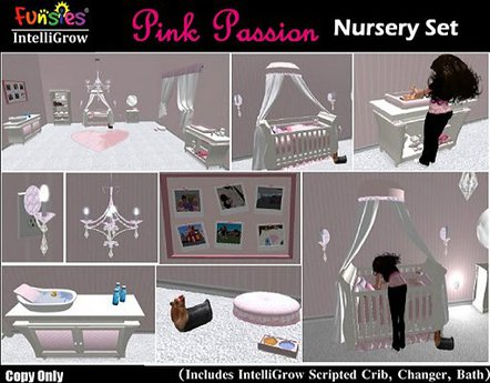 FUNSIES Babies IntelliGrow - Pink Passion Nursery (COPY)