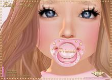 :*BABY*: Bling Binky - Princess - Pink