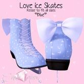 Candii Kitten - Love Ice Skates in Blue