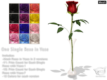 CATWA Rose With Vase