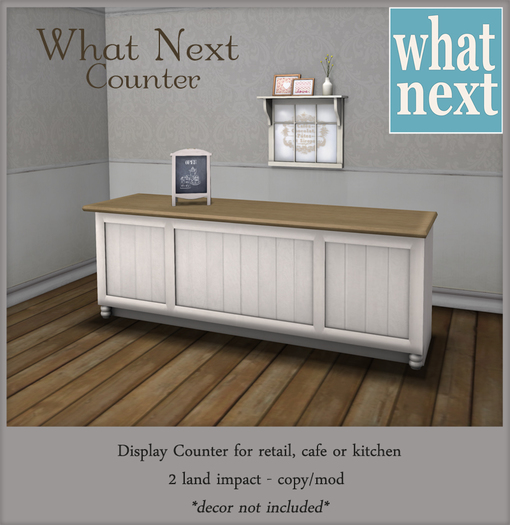 {what next} Counter