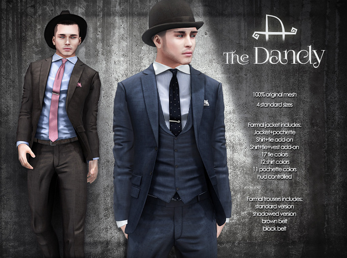 [Deadwool] The Dandy - formal jacket - DEMO