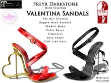 Freyr Darkstone Valentina Sandal Fullperm