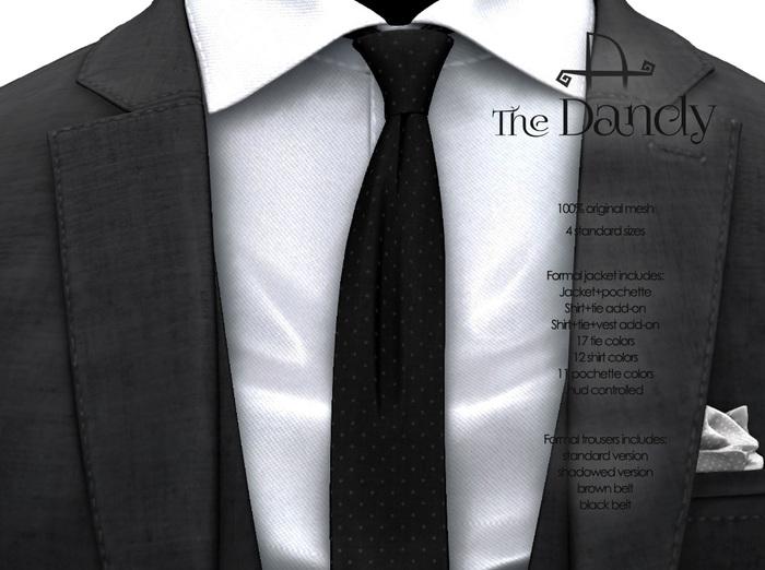 [Deadwool] The Dandy - formal jacket - black