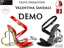 Freyr Darkstone Valentina Sandal DEMO