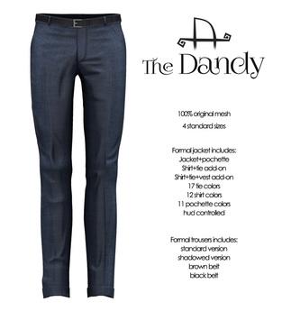 [Deadwool] The Dandy - trousers - blue