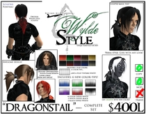 - Dragonstail - A Wylde Style by Khyle Sion