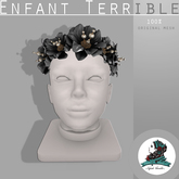 .Enfant Terrible. Rosalies Headpiece Black