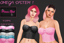 Princess Rebel - Sweet Girl Top - Omega Appliers - System Layers - Includes 5 Colors!