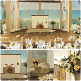 "Aphrodite ""White Roses"" Romantic Pavillion PG (Boxed, Copy)"
