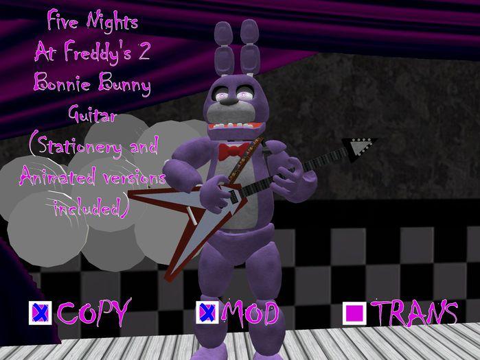 FNaF 2 (Five Nights at Freddy's 2): Bonnie Bunny Guitars