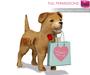 FULL PERM Meli Full Perm Mesh Valentine Puppy Holding Gift