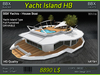 Yacht Island HB - White - Drivable -
