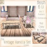 ~ASW~The Vintage Vanilla Set~ Green