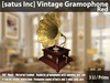 [satus Inc] Vintage Gramophone [Red] ~ only 3 LI/Prims