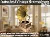 [satus Inc] Vintage Gramophone [Beech] ~ only 3 LI/Prims