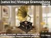 [satus Inc] Vintage Gramophone [Ebony] ~ only 3 LI/Prims
