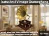 [satus Inc] Vintage Gramophone [Walnut] ~ only 3 LI/Prims