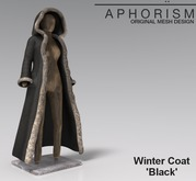 !APHORISM! Winter Coat - Black