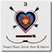 Blackburns Target Heart Arrow Bow & Quiver