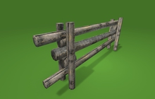 "1 prim full perm ""Old Wooden Fence"" sculpt map, any texture"