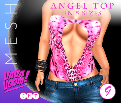 VaVaVOOM ! - Angel Top > 9 *MESH*