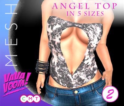 VaVaVOOM ! - Angel Top > 2 *MESH*