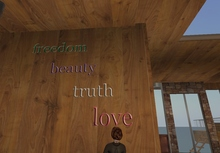 Freedom, Beauty, Truth, and Love