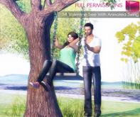 FULL PERM MI Animated Romantic Tree Swing