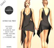 Asteria Full Perm - Bailarin Mini Dress - DEMO