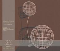 !Lyrical B!zarre Templates HOME! - Art Deco Lamp MESH FP
