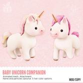 *MishMish* Baby Unicorn Companion - PINK [Boxed]