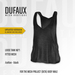 DUFAUX - TMP loose tank - fitted mesh - cotton - black