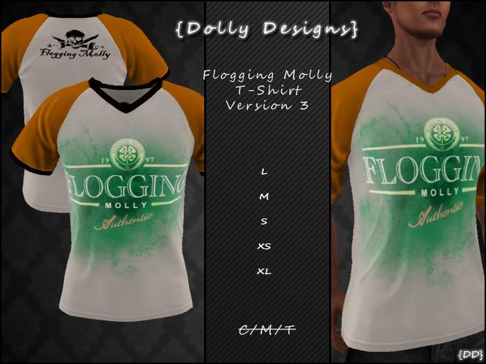 {DD} Flogging Molly T-shirt V3