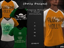 {DD} Flogging Molly T-Shirts Collection