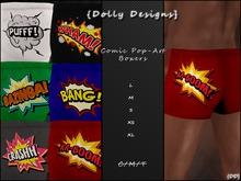 {DD} Comic Pop-art Boxers Collection
