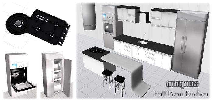 {XO} Full Perm Magnus Kitchen