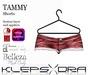 Klepsydra Tammy Shorts - Appliers - Red