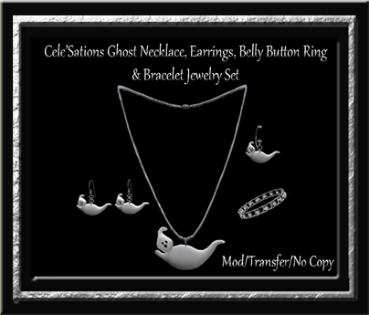 Cele'Sations Ghost Jewelry Set